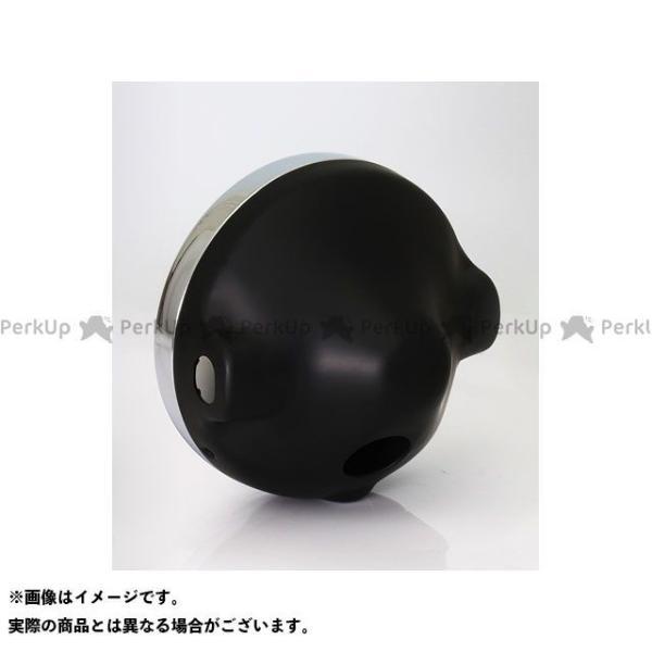 ブライテック カワサキ汎用 ヘッドランプ コンベックスシリーズ リム付(旧カワサキ系) ブラックケース motoride 02
