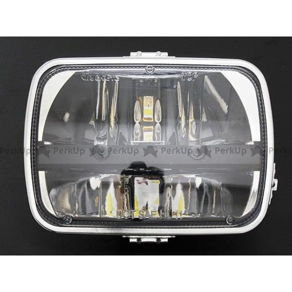 ブライテック 汎用 Truck LED スクエアタイプ ヘッドランプ motoride 02