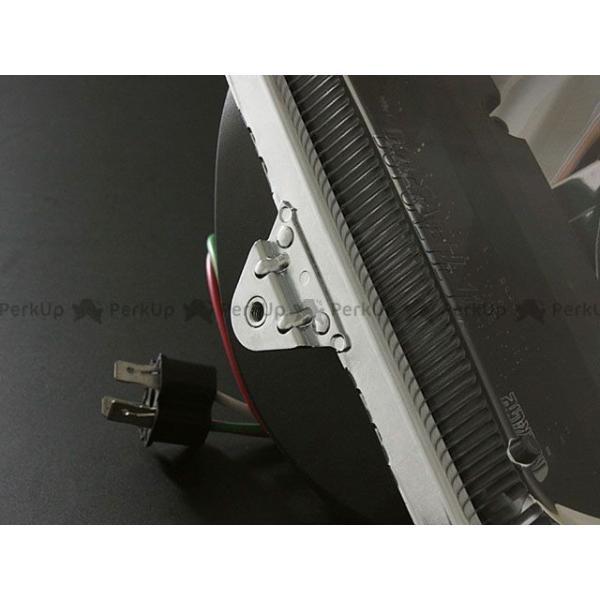 ブライテック 汎用 Truck LED スクエアタイプ ヘッドランプ motoride 06