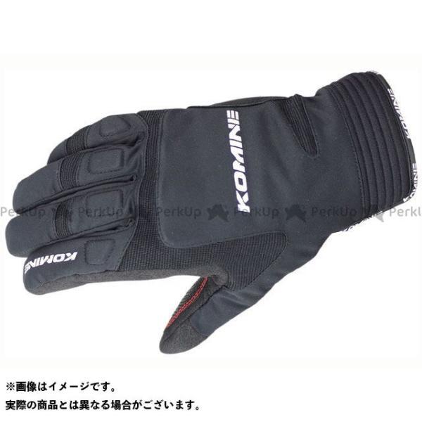 【雑誌付き】コミネ GK-801 ウインターグローブ カルタゴ カラー:ブラック サイズ:3XL KOMINE