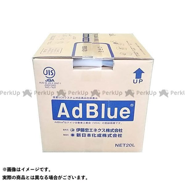 【雑誌付き】伊藤忠エネクス 尿素水 アドブルー バックインボックス 20L ITOCHU ENEX