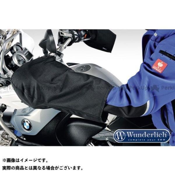 【雑誌付き】ワンダーリッヒ 汎用 ハンドルグローブ カラー:ブラック Wunderlich