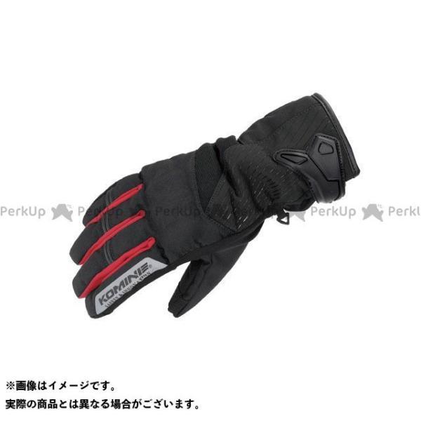 【雑誌付き】コミネ 2020-2021秋冬モデル GK-838 プロテクトショートウインターグローブ(ブラック/シルバー) サイズ:L KOMINE
