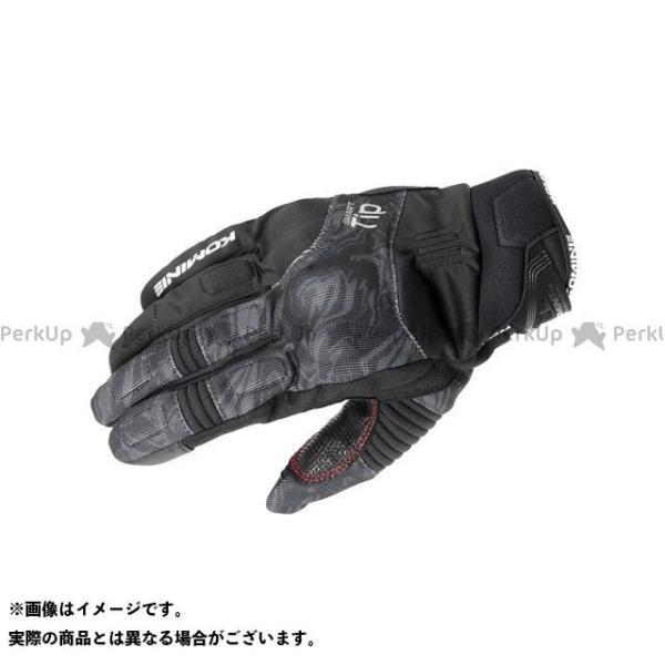 【雑誌付き】コミネ 2020-2021秋冬モデル GK-818 プロテクトウインターグローブ(ブラックマーブル) サイズ:XL KOMINE