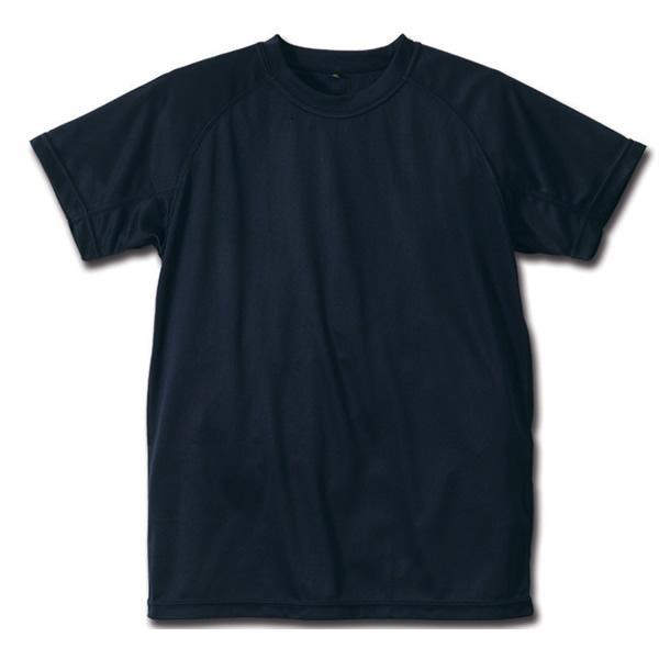 クールナイス 半袖Tシャツ 2枚組 6525 ネイビー(tシャツ インナー ティーシャツ 半そで 暑さ対策 吸汗速乾 速乾性 吸収 クール(まとめ買いで送料無料) motormagazine