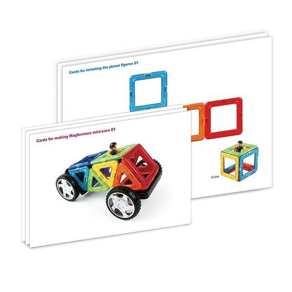 マグフォーマ― 乗り物セット16 (MAGFORMERS MF707004) 16ピース (知育玩具 子供 男の子 女の子 小学生)(あすつく対応/まとめ買いで送料無料)|motormagazine|02