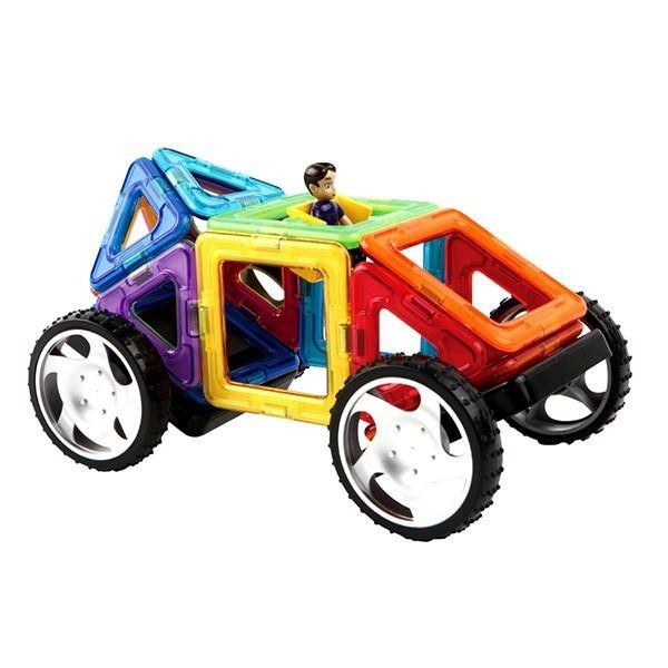 マグフォーマ― 乗り物セット16 (MAGFORMERS MF707004) 16ピース (知育玩具 子供 男の子 女の子 小学生)(あすつく対応/まとめ買いで送料無料)|motormagazine|03