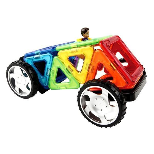 マグフォーマ― 乗り物セット16 (MAGFORMERS MF707004) 16ピース (知育玩具 子供 男の子 女の子 小学生)(あすつく対応/まとめ買いで送料無料)|motormagazine|04