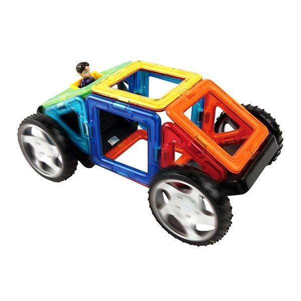 マグフォーマ― 乗り物セット16 (MAGFORMERS MF707004) 16ピース (知育玩具 子供 男の子 女の子 小学生)(あすつく対応/まとめ買いで送料無料)|motormagazine|05