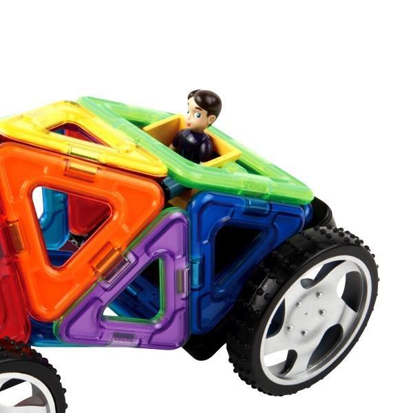 マグフォーマ― 乗り物セット16 (MAGFORMERS MF707004) 16ピース (知育玩具 子供 男の子 女の子 小学生)(あすつく対応/まとめ買いで送料無料)|motormagazine|06