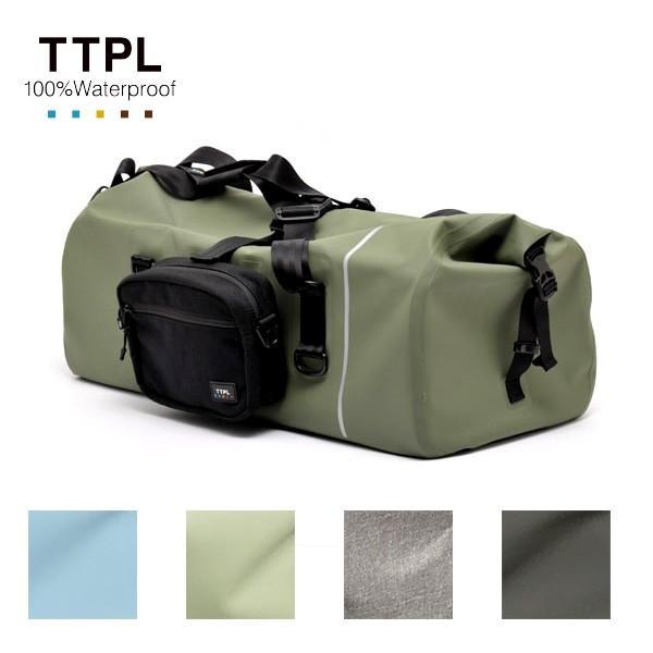 TTPL ツーリングバッグ touring60 完全防水 motormagazine