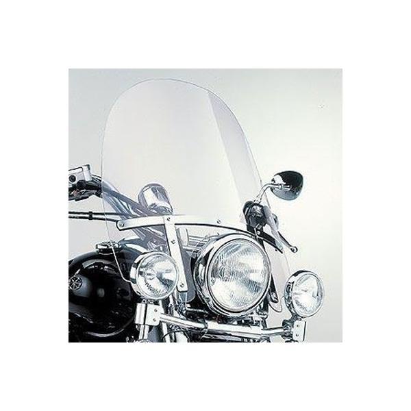 ヤマハ純正 ドラッグスタークラシック400(DSC4)用 ウインドシールド(TALL)_ワイズギア/YAMAHA-90793-53062|motoship-hd
