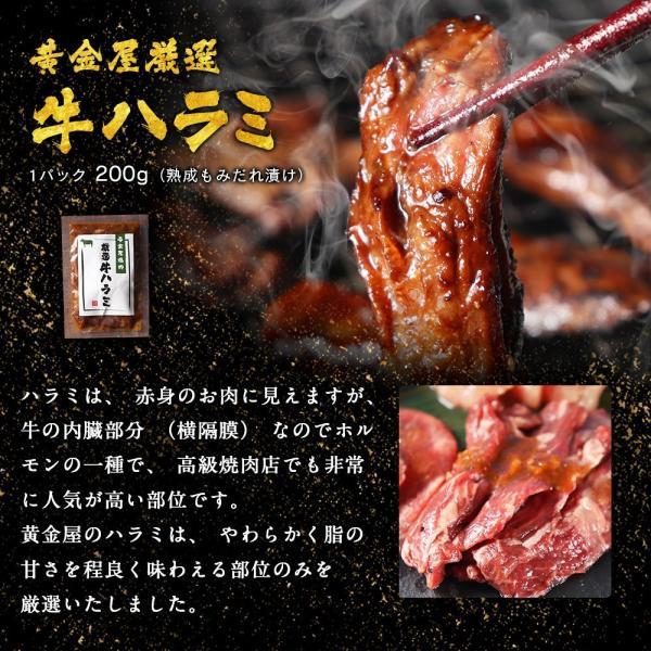 焼肉 BBQ セット 2019 黄金屋「厳選焼肉」6種食べ比べセット 送料無料  お酒 お供 焼肉 牛タン ハラミ 焼肉 motunabe 09