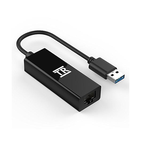 有線LANアダプタ、TechRise USB 3.0 to RJ45 ギガビットイーサネットLAN ネットワーク アダプタ 10/100/1000|mount-n-online|02