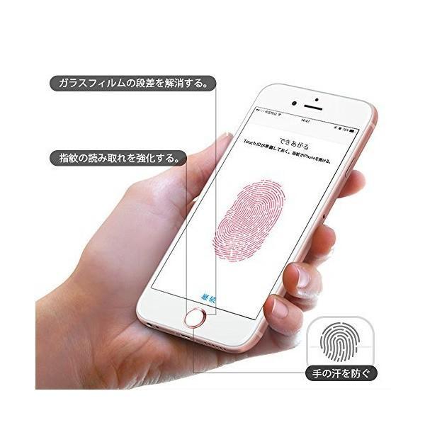 Doutop ホームボタンシール 指紋認証 TouchID iPhone X 8 Plus 7 6S 6 5s iPad Air 2 iPad Pr mount-n-online 04