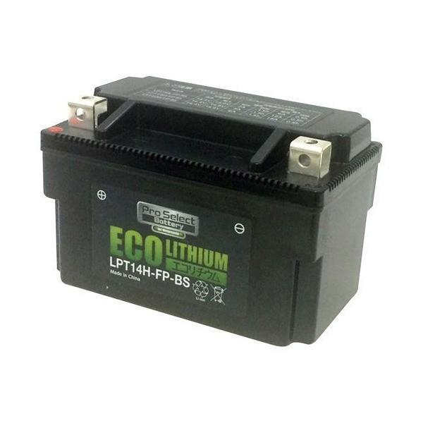 プロセレクト LPT14H-FP-BS バイク用エコリチウムイオンバッテリー(互換品番:YTX7A-BS、YTX9-BS、YTX12、YTX12-B|mount-n-online