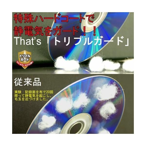太陽誘電製 That's DVD-Rデータ用 16倍速4.7GB トリプルガード(ハードコート) スピンドルケース50枚入 DR-47WTY50BN