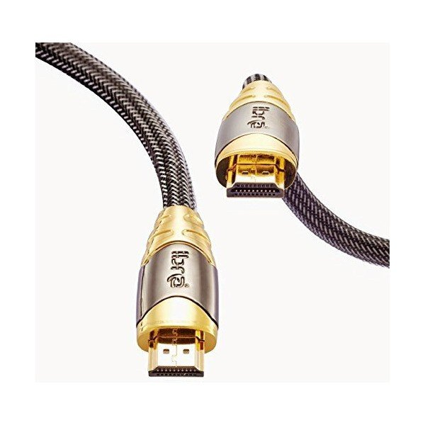 IBRA? LUXURY GOLD High Speed 10 Meter Gold Plated HDMI to HDMI cable with