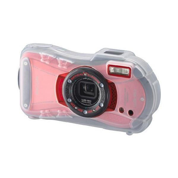 PENTAX デジタルカメラケース プロテクタージャケット O-CC1182 半透明 39929