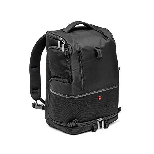 Manfrotto マンフロット MB MA-BP-TL Advanced Tri Backpack, Large (Black) バックパック 黒