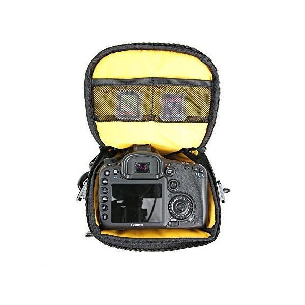 VANGUARD カメラバッグ VEO COLLECTION  ズームバッグ/ホルスター 3.4L 一眼レフ用 ブラック VEO DISCOVER mount-n-online 02