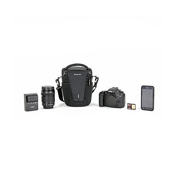 VANGUARD カメラバッグ VEO COLLECTION  ズームバッグ/ホルスター 3.4L 一眼レフ用 ブラック VEO DISCOVER mount-n-online 03