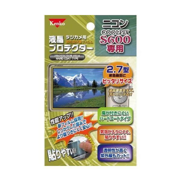 Kenko 液晶保護フィルム 液晶プロテクター Nikon COOLPIX S600用 K-852057