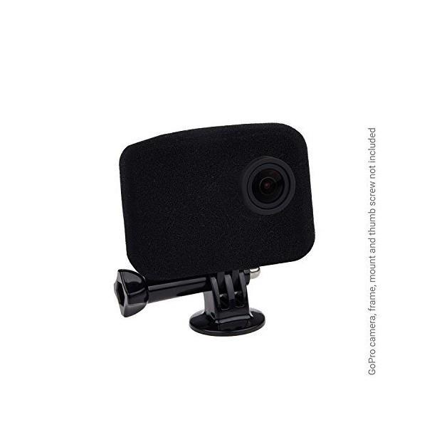 ウインドスレイヤーGoPro カメラ用 - 適切な音声記録のために風音を減らす- GoPro HERO4、HERO3+、 HERO3用 - UV フ