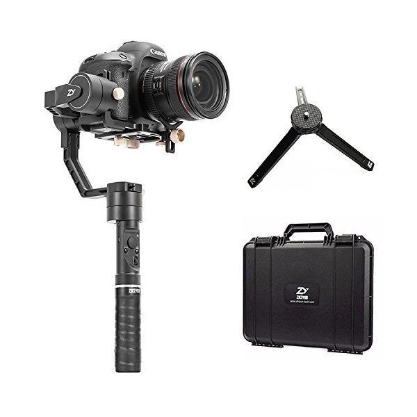 Zhiyun crane plus 3軸ハンドヘルドジンバルスタビライザDSLRカメラのモーションメモリ、インテリジェントオブジェクトトラッキング、