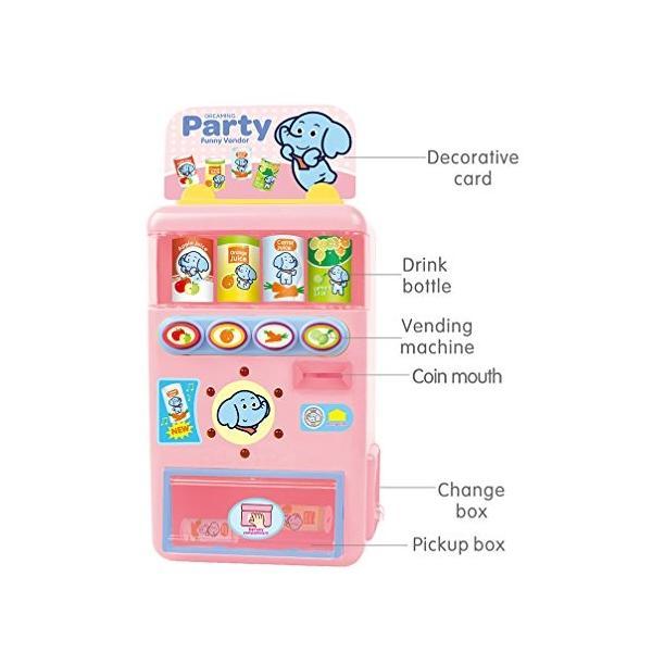 Baoli 自動販売機 喋れる飲み物売場 ジュースをちょうだい お店屋さんごっこ遊び|mount-n-online|03