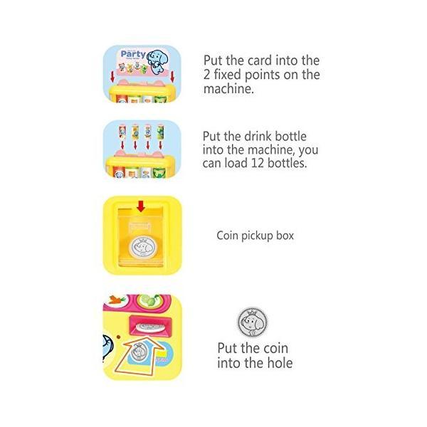 Baoli 自動販売機 喋れる飲み物売場 ジュースをちょうだい お店屋さんごっこ遊び|mount-n-online|05
