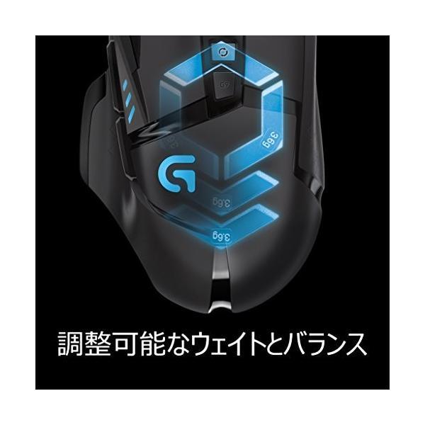 ゲーミングマウス ロジクール G502RGB DPI切り替えボタン プログラム可能ボタン ウェイト調整 高精度ターゲティ|mount-n-online|06