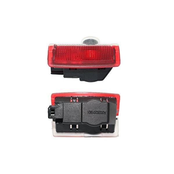 ColorBuy カーテシライト カーテシ LEDロゴ カーテシランプ メルセデスベンツ A B E M ML C Coupe C GL GLC GLE GLS GLAクラス|mount-n-online|04
