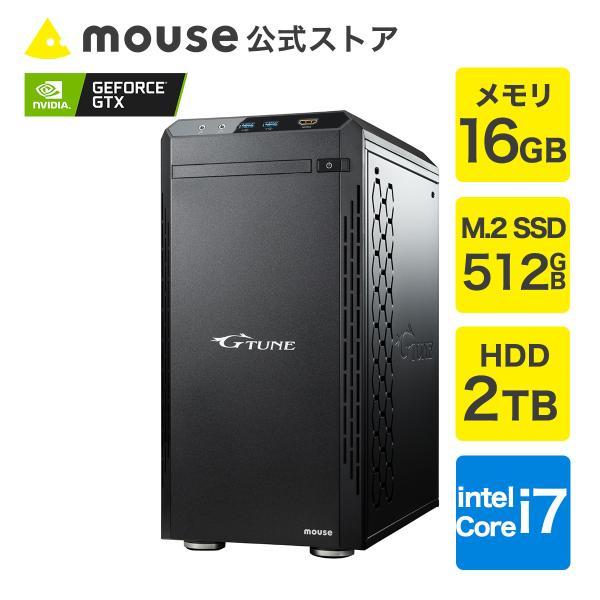 ゲーミングパソコンデスクトップG-TunePM-B-PPMAWindows10Corei7512GBM.2SSD2TBHDDゲー