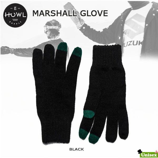 HOWL  ハウル MARSHALL GLOVE スノーボード グローブ ミット ユニセックス|move-select