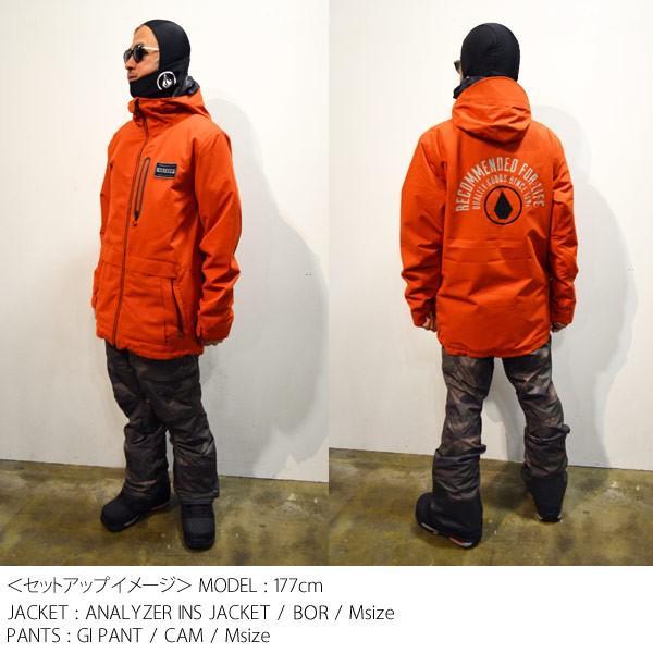 スノーボード ウエア ウェアー メンズ 18/19 SNOW VOLCOM ボルコム GI PANT ジーアイパンツ|move-select|07