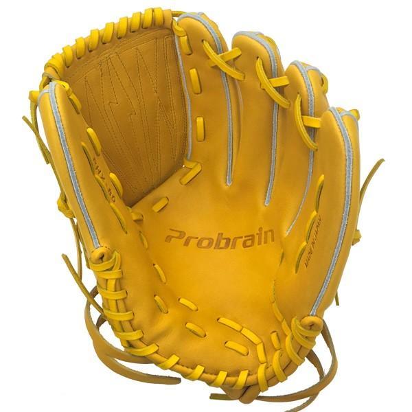 本日ポイントアップデー 野球 硬式グローブ 一般用 投手 ピッチャー用 エスエスケイ SSK プロブレイン ターメリックタン サイズ7S|move-select|02