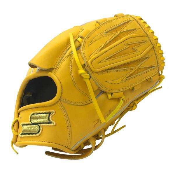 本日ポイントアップデー 野球 硬式グローブ 一般用 投手 ピッチャー用 エスエスケイ SSK プロブレイン ターメリックタン サイズ7S|move-select|03