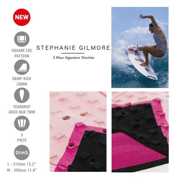 19 CREATURES クリエイチャー DECK GRIP STEPHANIE GILMORE デッキパット ステファニーギルモア|move|03