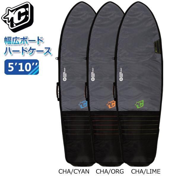 19 CREATURES クリエイチャー RETRO/FISH DAY USE 5'10 D-TECH ハードケース 幅広ボード用 ボードケース|move