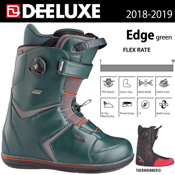 スノーボード ブーツ 靴 18/19 DEELUXE ディーラックス EDGE TF エッジ|move