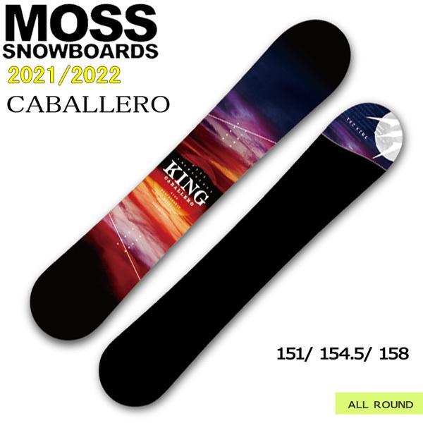 予約商品 スノーボード 板 21-22 MOSS モス CABALLERO キャバレロ 21-22-BO-MOB