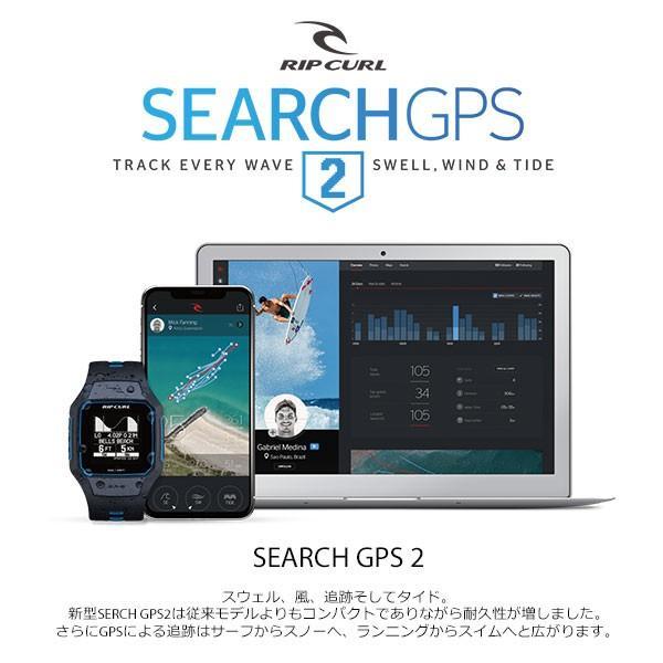 時計 GPS RIPCURL(リップカール)新型SERCH GPS2 サーフィンのデータを記録 充電式 タイドグラフ|move|08