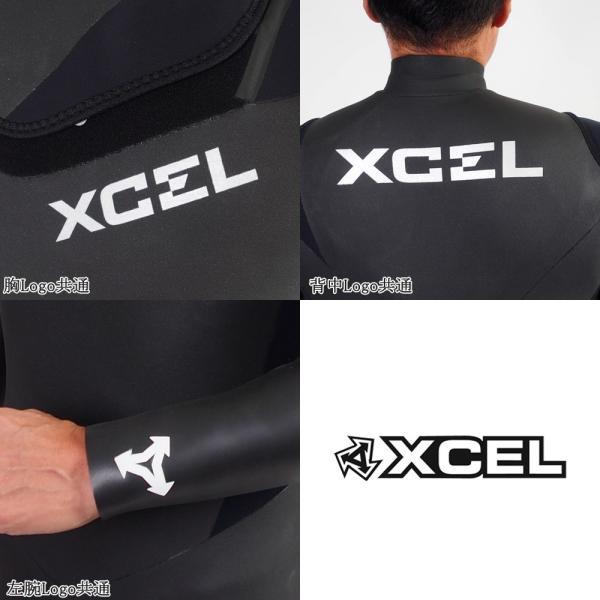 ウエットスーツ セミドライ ラバー スキン 国産 18-19 XCEL(エクセル)  メンズ MOVE限定 ジップレス 5/3mm X-18|move|05