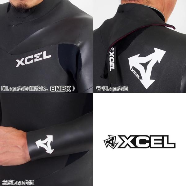 ウエットスーツ セミドライ ラバー スキン 国産 18-19 XCEL(エクセル)  メンズ MOVE限定 バックジップ バリアインナー 5/3mm X-18|move|05