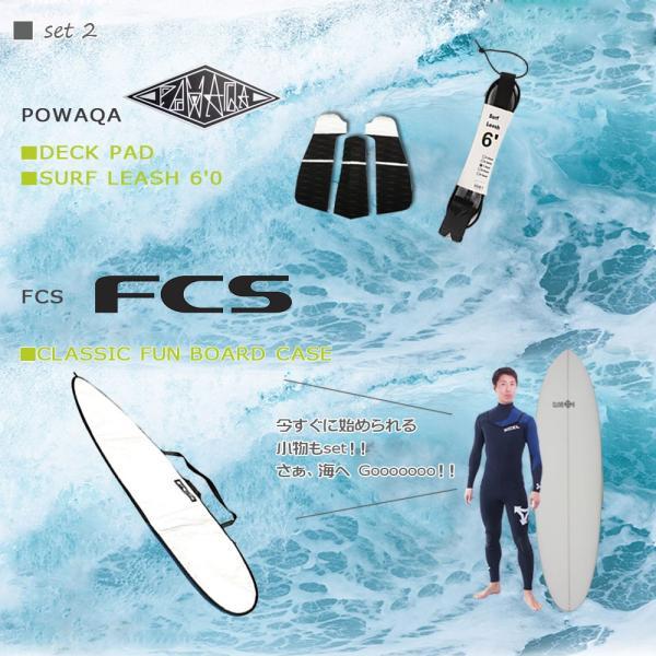 スターターお得6点セット<br>CLOVER(クローバー) SURFBOARDS EB ファンボード 素材/PU<br>初〜中級者向け|move|03