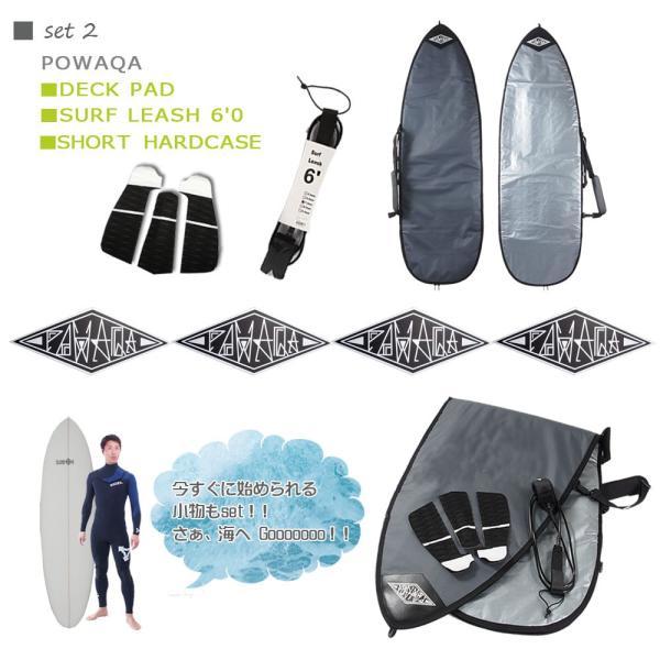 サーフィン スターターお得6点セット CLOVER(クローバー) SURFBOARDS SB ショートボード 素材/PU 初心者 中級者向け|move|03