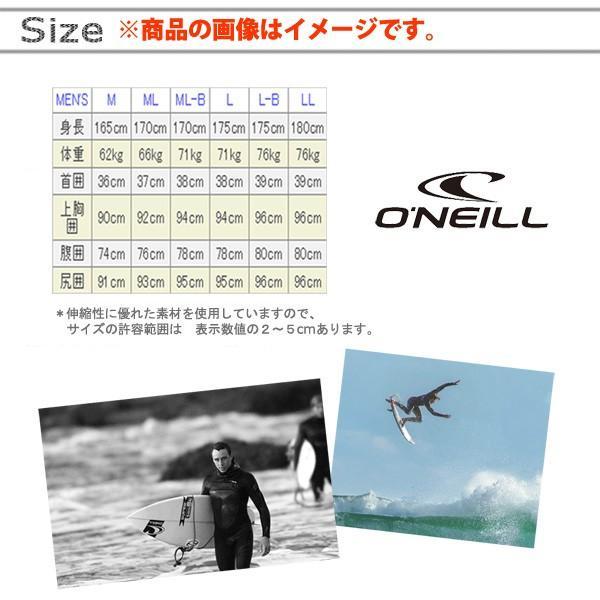 19 オニール スーパーライト クラシック ショートジョン 2mm ウェットスーツ|move|02