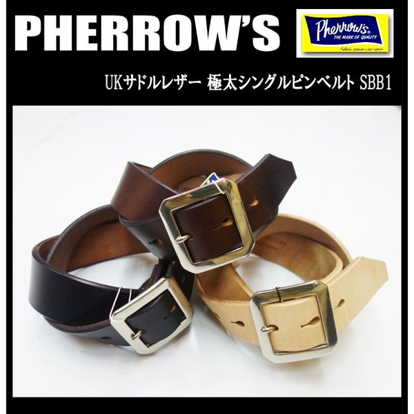 PHERROW'S フェローズ ベルト SBB1|moveclothing