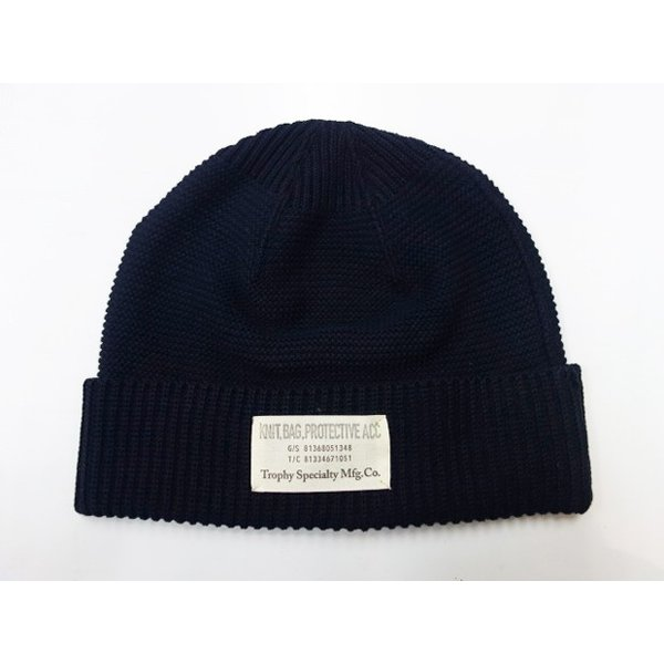 TROPHY CLOTHING トロフィークロージング ニットキャップ Red Cross Knit Cap|moveclothing|04
